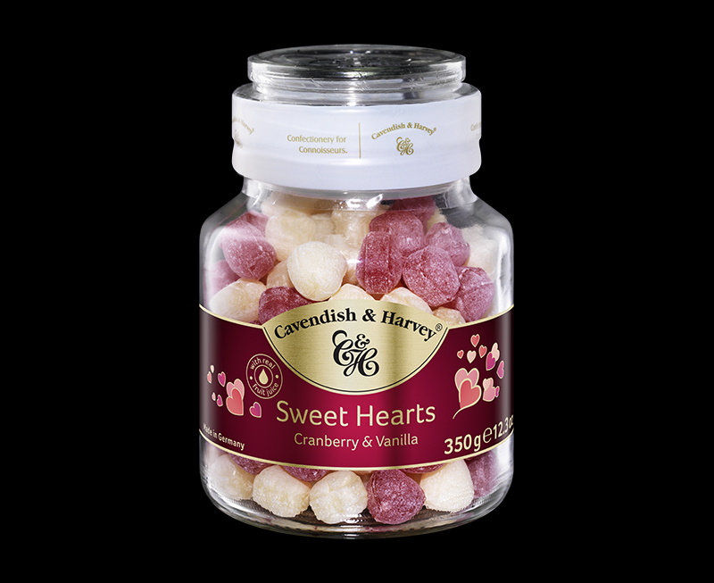 Sweet Hearts Cranberry & Vanilla 350g