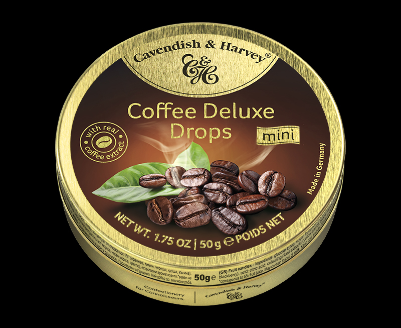 Coffee Deluxe Drops 50g