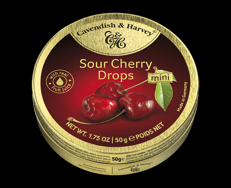 Sour Cherry Drops 50g