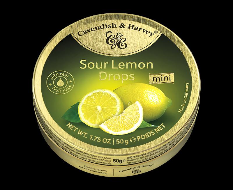 Sour Lemon Drops 50g