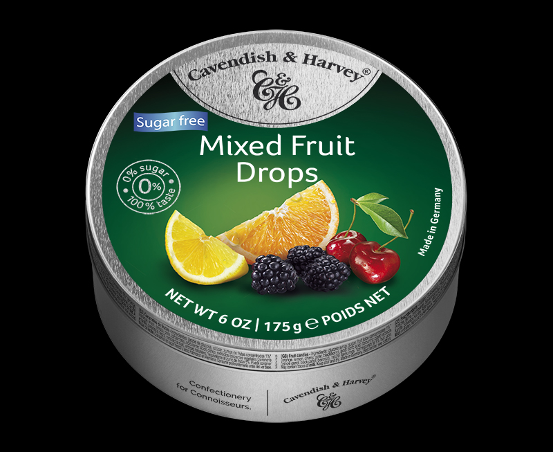 Sugar Free Mixed Fruit Drops 175g