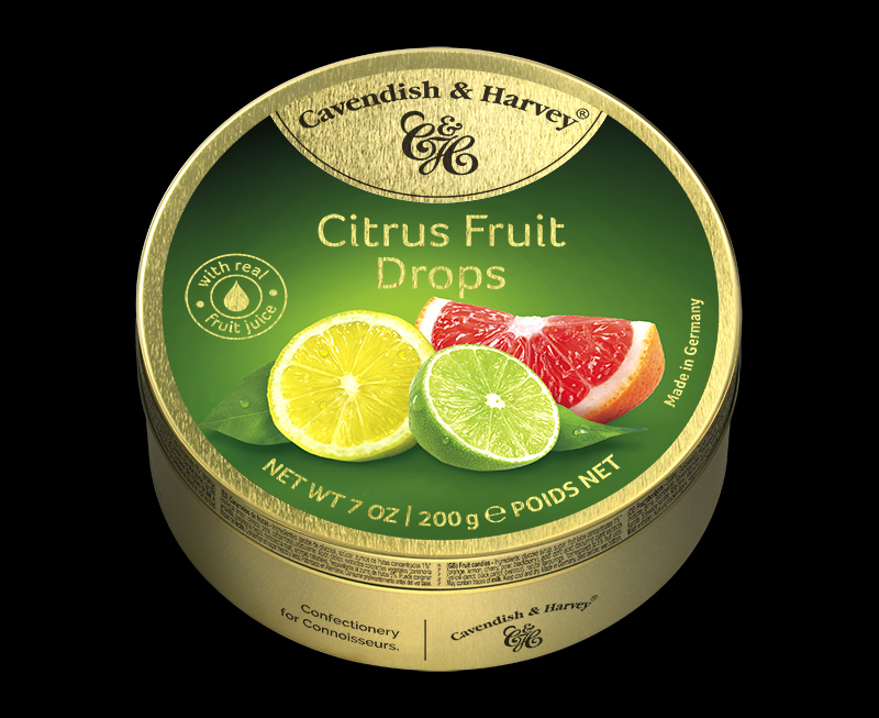 Citrus Fruit Drops 200g