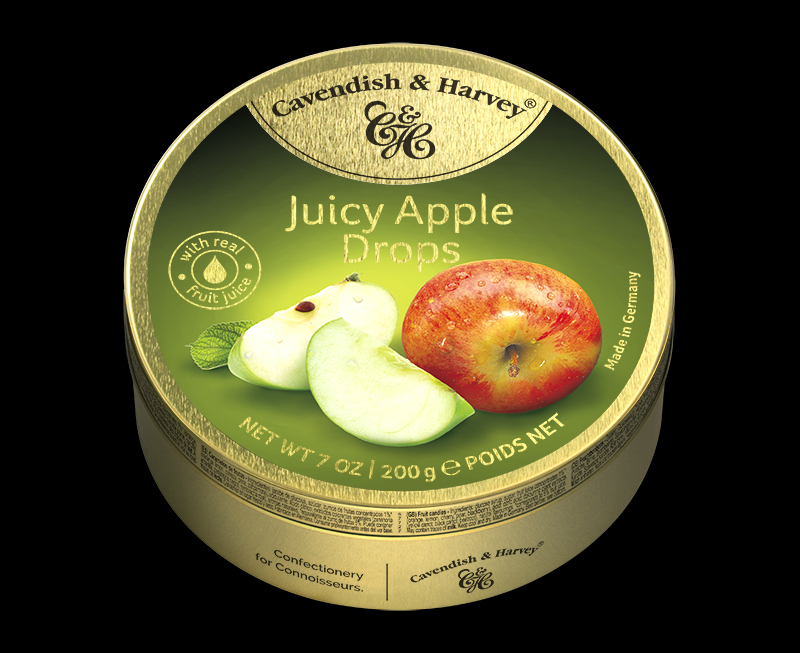 Juicy Apple Drops 200g