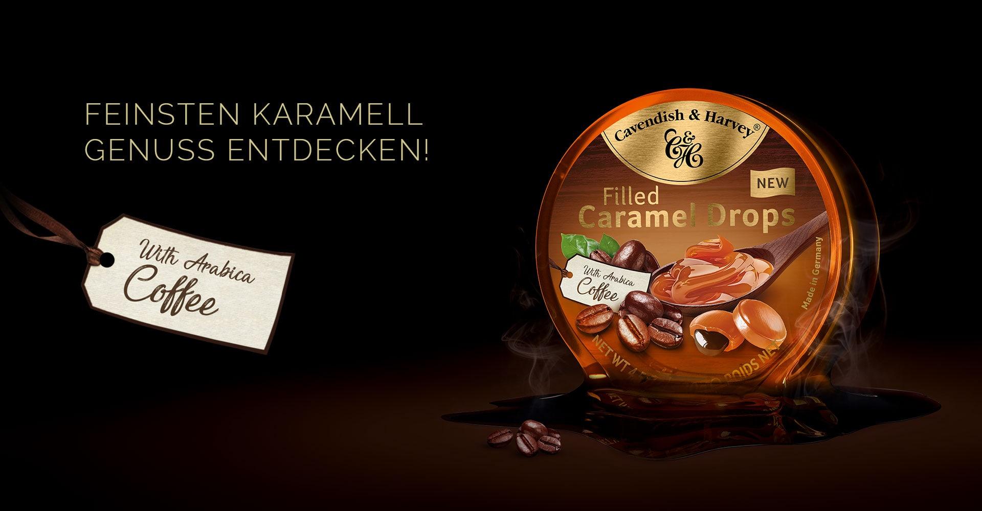 Feinsten Karamellgenuss entdecken – with Arabica Coffee