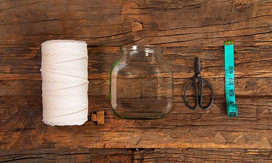 Makramée-Vase Checkliste