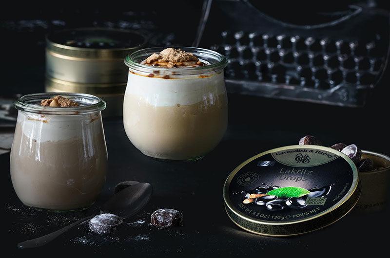 Lakritz-Schmand Pudding