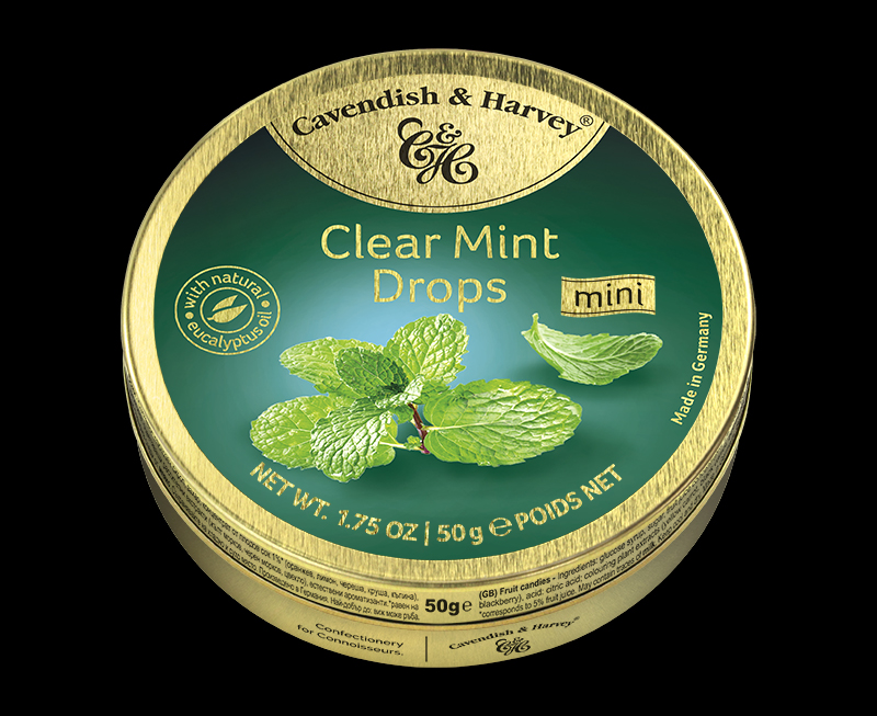 Clear Mint Drops 50g