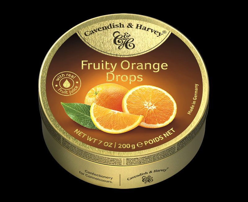Fruity Orange Drops 200g