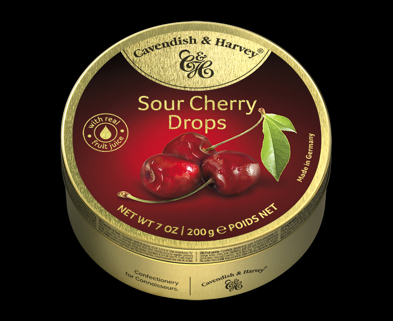 Sour Cherry Drops 200g