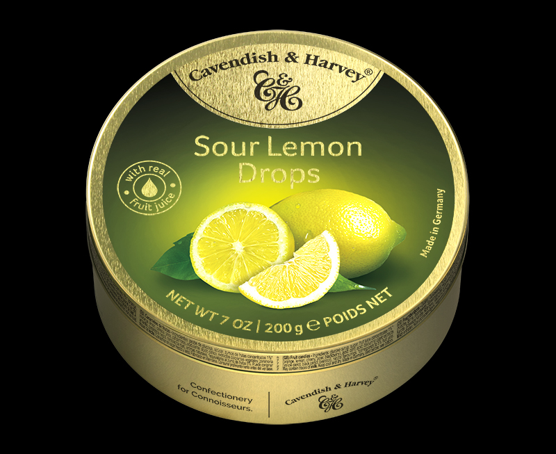 Sour Lemon Drops 200g