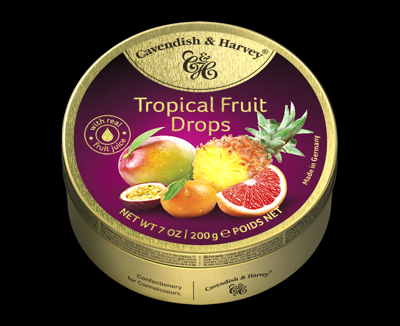 Tropical Fruit Drops 200g