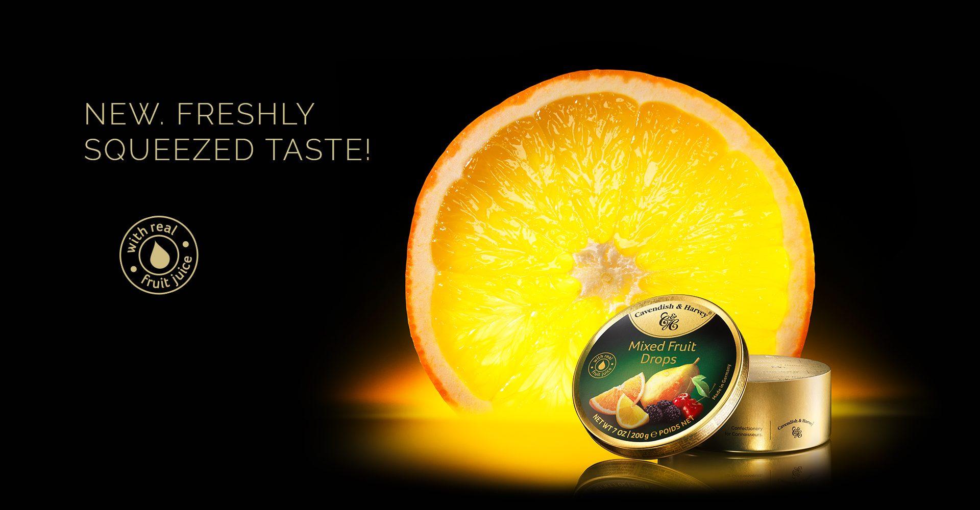 KeyVisual Mixed Fruit