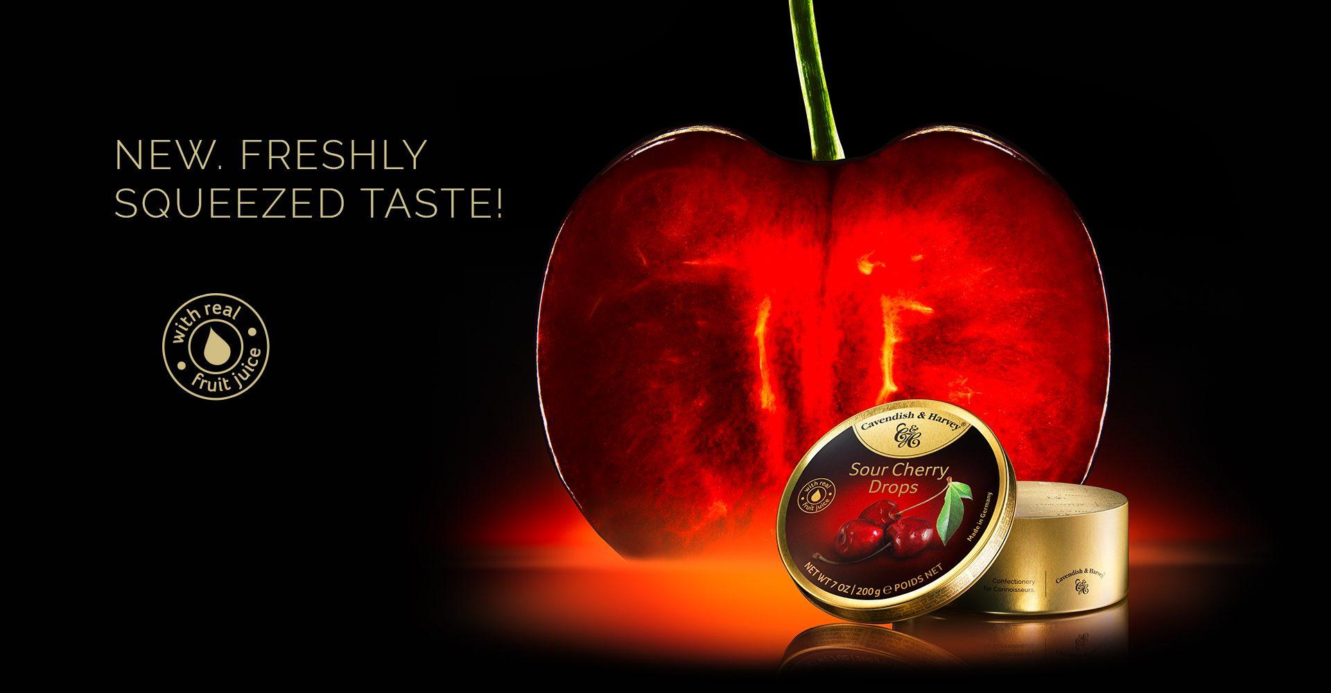 KeyVisual Sour Cherry