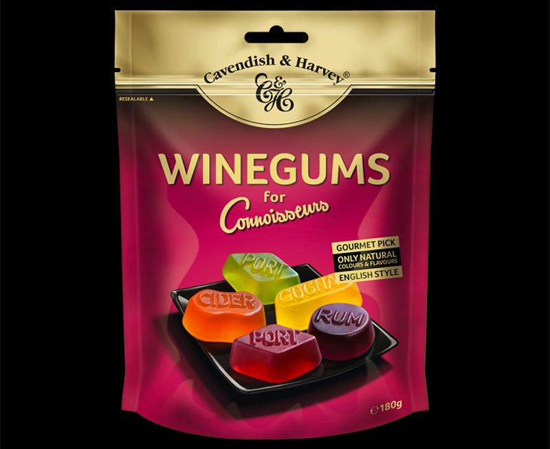 Winegums for Connoisseurs 180g