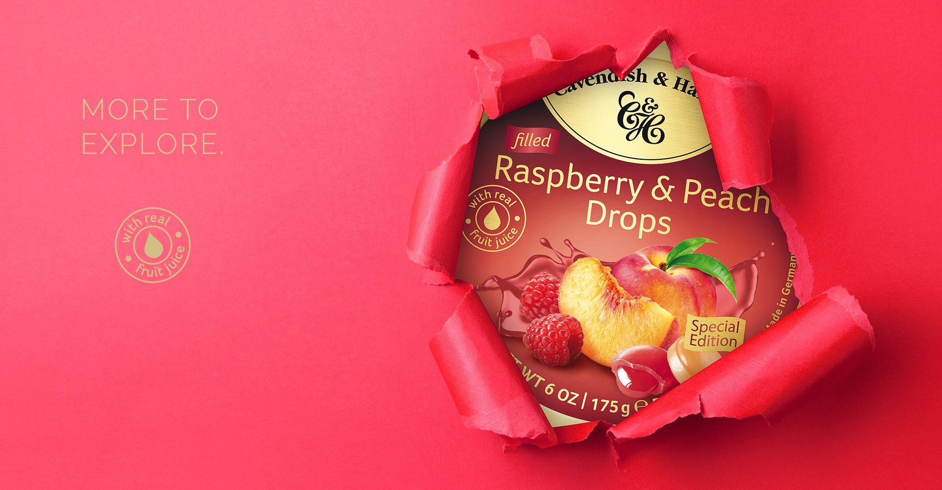 KeyVisual Raspberry-Peach