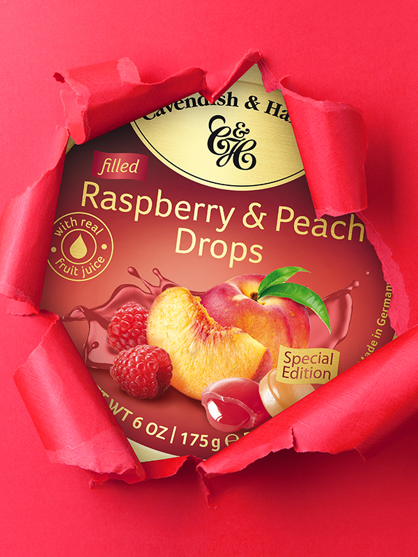 Panel TT Raspberry & Peach