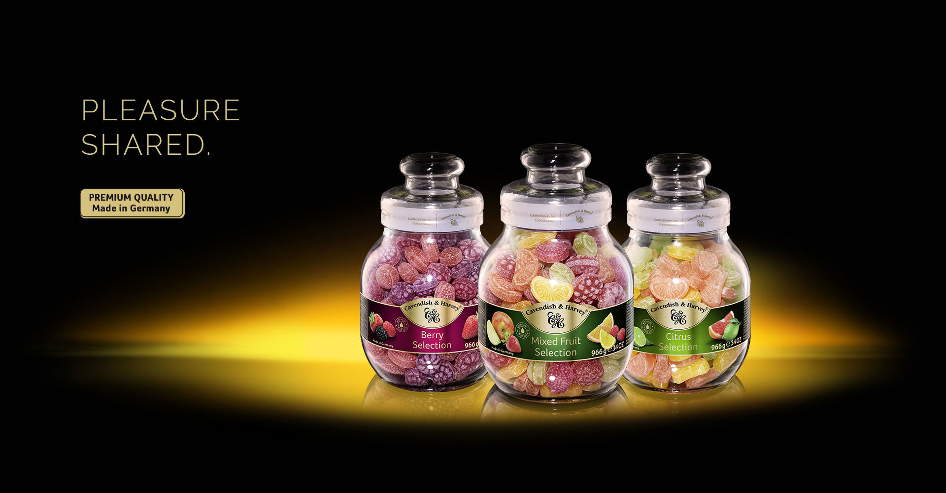 Confectionery in Jars